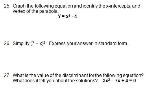 Worksheet Algebra 1 Honors Worksheets algebra 1 honors eoc practice test with answers test