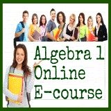 Algebra 1 Ecourse