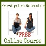 pre algebra ecourse