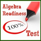 algebra readiness test