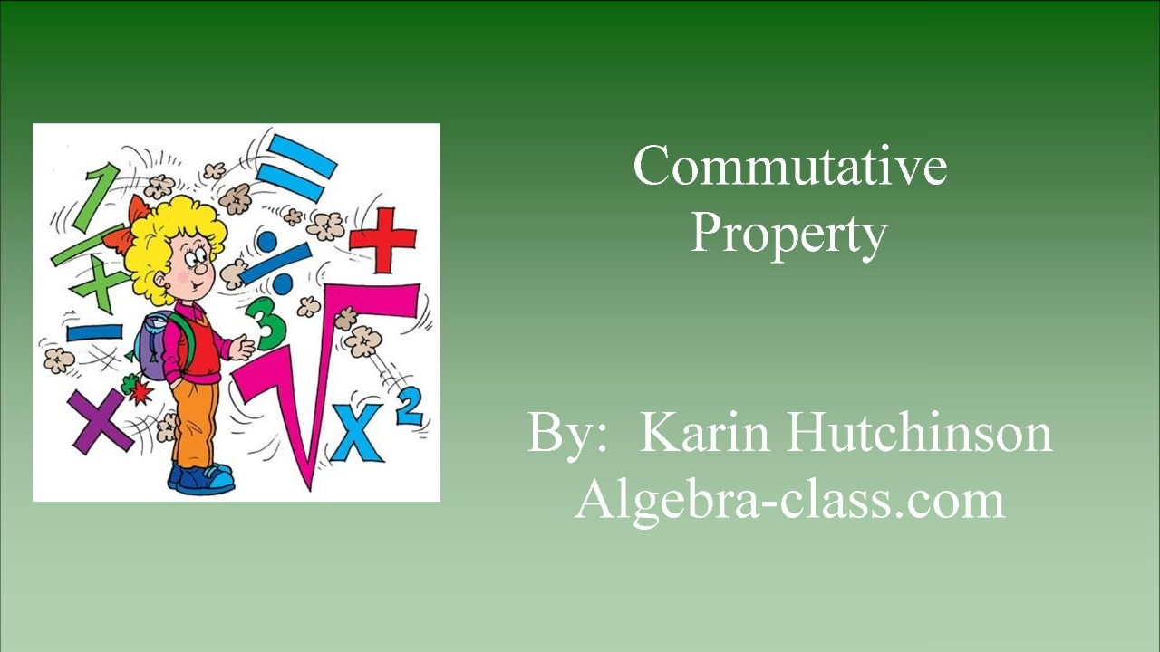 Commutative Property