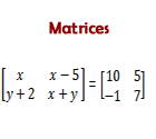 Matrices Ecourse