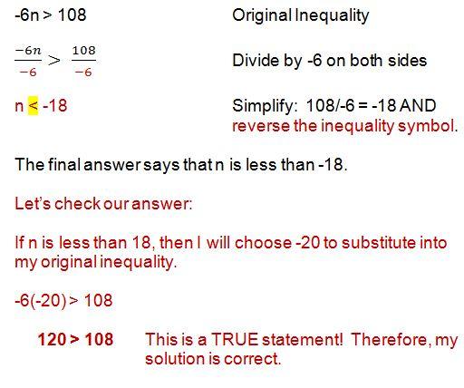 inequality example