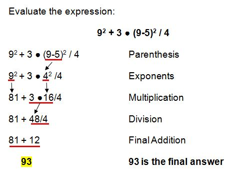 order of operations example