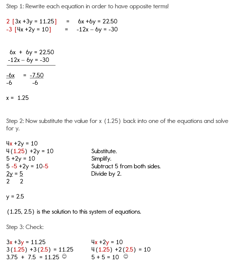 solving equation word problems
